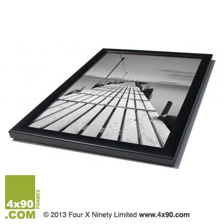 Price comparison product image Anker A4 Certificate Photo/Picture Frame, Classic Black, 21 x 29.7 cm