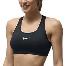 Nike Sport-Bh Pro Victory Compression Sujetador deportivo, Mujer, Negro (Black / White), M