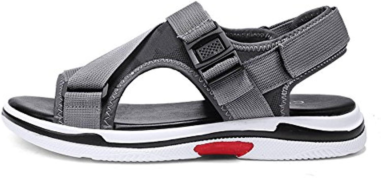 Sandalias Hombres Zapatos De Playa Velcro Verano Casual Al Aire Libre Zapatillas