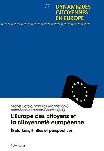 L'europe Des Citoyens Et La Citoyennet�...