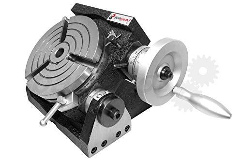 PAULIMOT Teilapparat Rundtisch Ø 150 mm schwenkbar horizontal/vertikal