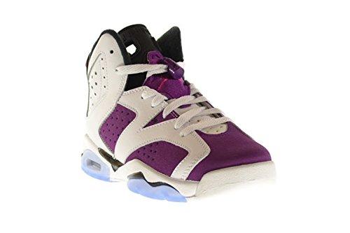 Nike Mädchen Air Jordan 6 Retro Gg Laufschuhe white, vivid pink-brght grp-blk