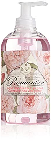 NESTI DANTE Romantica Rose & Peony, Liquid Soap 500 ml