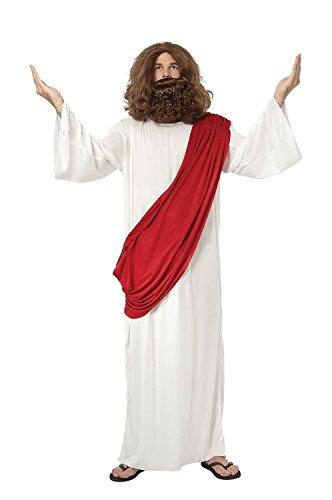 Jesus Super Kostüm (JESUS KOSTÜME,IN EXTRA GROß ,RELIGION,SOHN GOTTES,VERKLEIDUNG, OHNE)