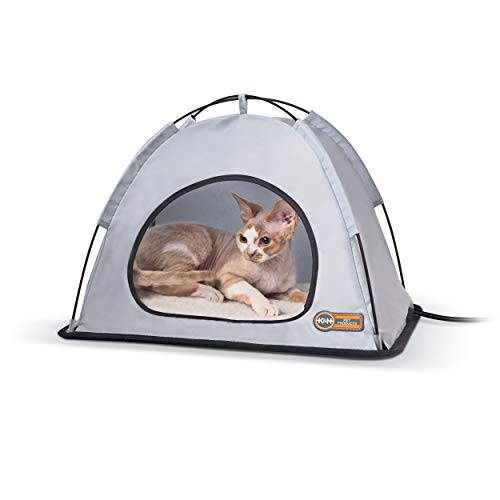K&H Pet Products Thermo-Zelt für Hunde und Katzen, beheizt, Größe S, 35 x 46 x 32 cm, 20 W -