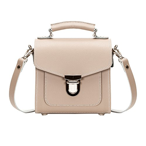 Zatchels - Sugarcube - Borsa in pelle fatta a mano (British Made) - Donna Tasca rosa