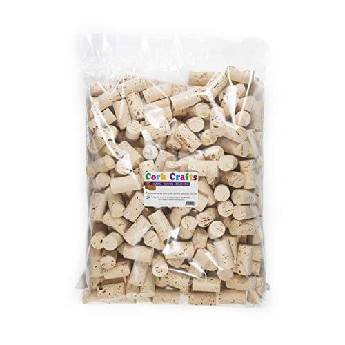 Korken / 250 Natur Weinkorken 24 mm x 45 mm/Flaschenkorken zum Basteln