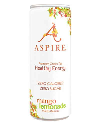 Aspire Mango Lemonade Healthy Energy Drink (24x250ml) -