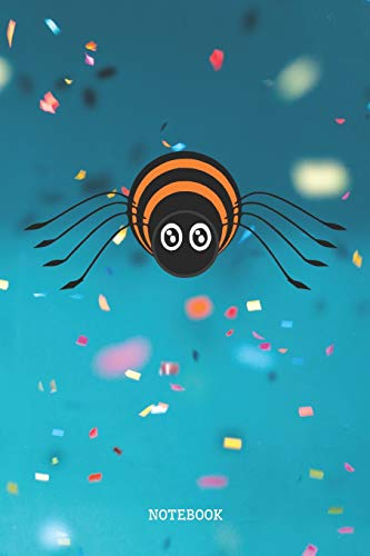 oon Spider Party Planner / Organizer / Lined Notebook (6