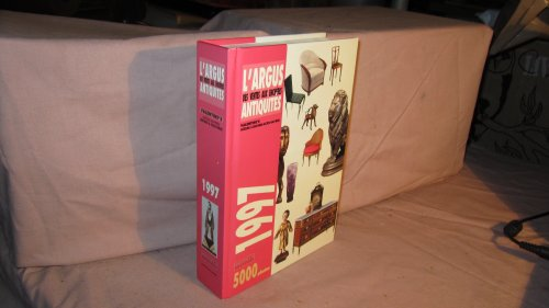 L'Argus des ventes aux enchères, antiquités, 1997