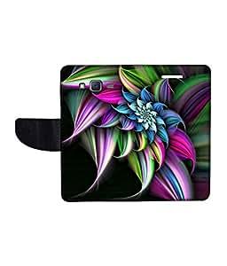 KolorEdge Printed Flip Cover For Samsung Galaxy J5 Multicolor - (1478-50KeMLogo09496SamJ5)