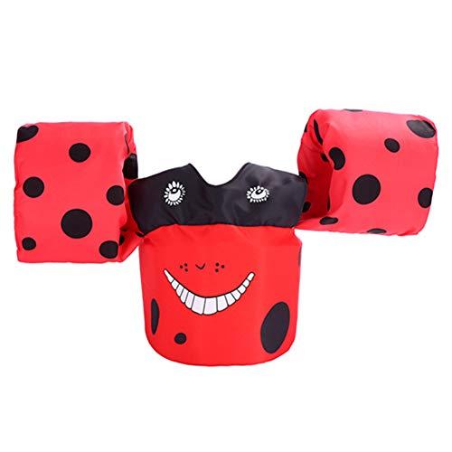 Aufblasbare Armbänder für Kinder, niedliche Schwimmweste Schwimmweste für 2-6 Jahre, 0ld, 15-30 kg, Schwimmer für Mädchen und Jungen Style 2