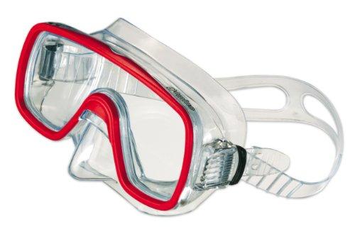 SALVAS Tauchermaske, Schnorchelmaske für Erwachsene DOMINO