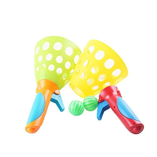 NUOLUX Bounce Ball Spielzeug Outdoor Aktivitäten Tennis Spring Ball Spiel mit Kindern, 1 PCS (Für Outdoor-spiele Kleinkinder)