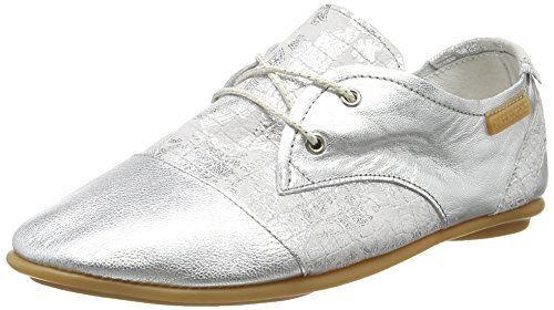 Pataugas Swing Ca F2b, Chaussures Lacées Femme Argent