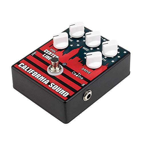 Kalaok CP-57 High Gain E-Gitarre Overdrive Distortion Effektpedal 3-Band EQ Aluminiumlegierung Gehäuse True Bypass