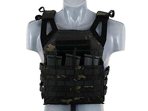 Fields Airsoft Molle Jump Style Lightweight Vest Plate Carrier Elite Lightweight Vest