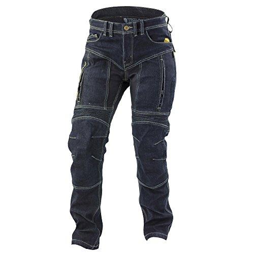 Trilobite Motorrad Wasserdicht Jeans, dunkelblau, Größe 28