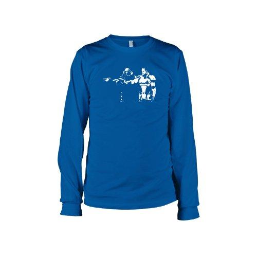 TEXLAB - Mass Fiction - Langarm T-Shirt Marine