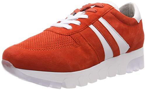 Tamaris Damen 1-1-23749-22 621 Sneaker, Orange (Sunset Suede 621), 41 EU Orange Sneaker Schuhe