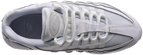 Nike Wmns Air Max 95, Scarpe da Ginnastica Donna Bianco (White/White/White 108)