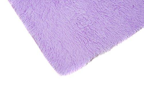 Tappeto Cameretta Lilla : Tapiso silk tappeto shaggy soggiorno camera salotto moderno lilla