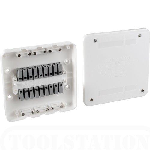 SW2L Surewire SW2L-MF 2-Wege-Anschlussdose für Licht und Schalter, wartungsfrei