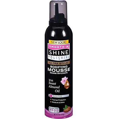 Smooth N' Shine Mousse coiffante - Tenue ferme et légère - 266 ml