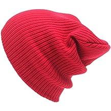SMARTLADY Otoño Invierno Hombre Mujer Gorros de Punto Hip Hop Gorra de Esquí Sombrero de Beanie