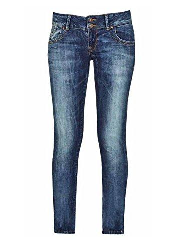 LTB Jeans Damen Slim Jeans Molly Erwina Wash (1942)