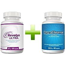 Revolyn Ultra und Purecleanse Ultra Doppelpaket | Extra schnelle Gewichtsabnahme und Entschlackung mit diesem Kombi-Paket