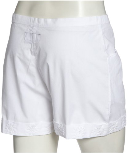 Anita Khan Short Black Rose aks1008 Damen Hosen/ Shorts & Bermudas Weiss (White)