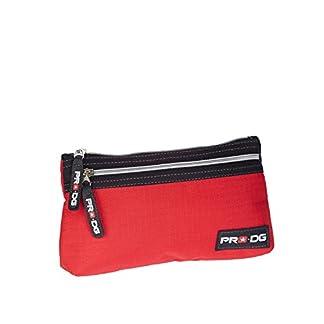 Pro-Dg- Estuche portatodo Plano, Color Rojo, 22 cm (Karactermanía 55584)