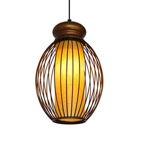 Cage Pendelleuchte Restaurant Farm House Hang Lampe Antik Eisen Deckenleuchte Balkon Korridor Kronleuchter ()