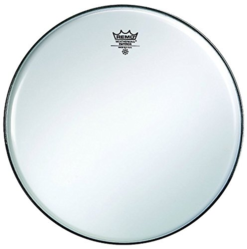 Remo ba0214–0035,6cm Ambassador Trommel Kopf, glatt weiß
