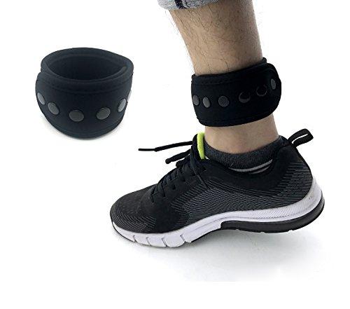 CAREOR Erweitern Schnalle Wear Band, den Klettverschluss mit Mesh Tasche für Fitbit One/Charge 2/Zip Fitbit Flex 2/Fitbit Alta/Alta HR mit 2 Größe (Tracker nicht enthalten)