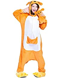 Keral Kigurumi Pijamas Adulto Anime Cosplay de Halloween Traje Outfit
