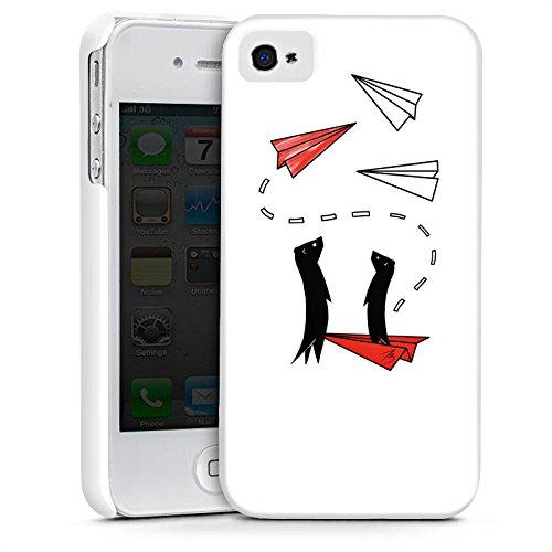 Apple iPhone X Silikon Hülle Case Schutzhülle Erdmännchen Tiere Comic Premium Case glänzend