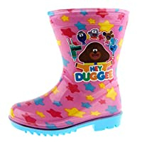 Hey Duggee Girls Wellington Boots Pink