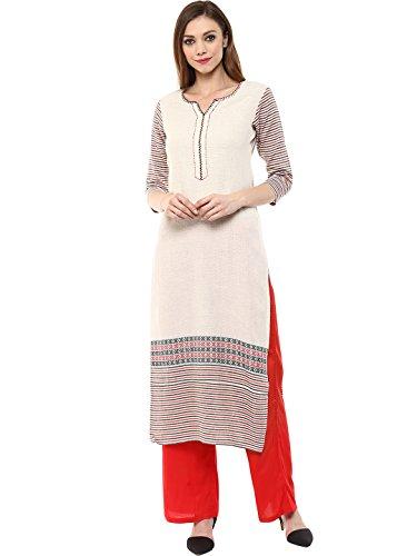 Jaipur Kurti Women's Straight Salwar Suit