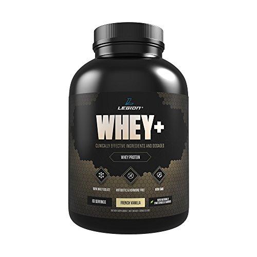 Legion Athletics Whey+ Vanilla Protein Powder, 5lb