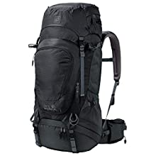 Jack Wolfskin Highland Trail XT Sac à dos trekking, Zaino Unisex-Adulto, Nero (phantom), One Size