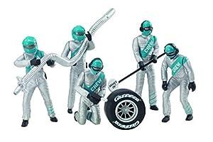 Carrera- Set de Figuras, Color Plata (20021133)