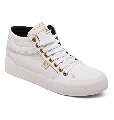 DC Apparel Damen Evan Hi Sneakers, Blanc (Wg1), 41 EU (Damen Schuhe Dc Skate High)