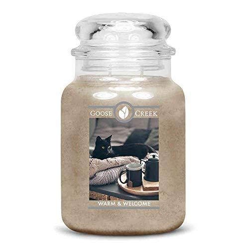 Goose Creek Duftkerze im Glas 2 Dochte WARM & Welcome 680 g -