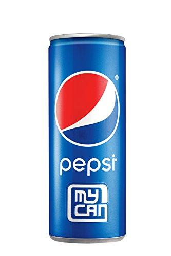 Pepsi My Can My Team Tin 250ml