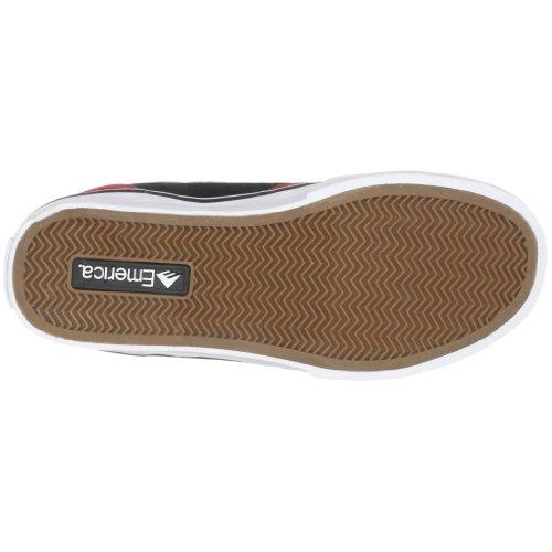Emerica JINX SMU 6107000078, Sneaker uomo Rojo / Negro