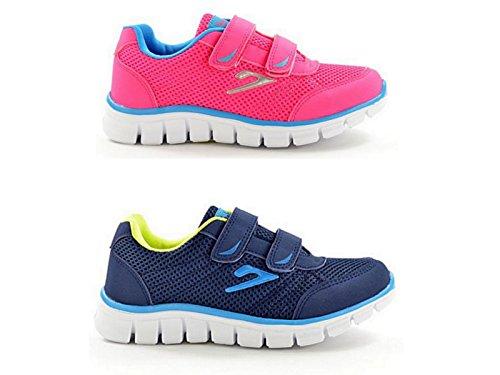 Foster Footwear ,  Jungen Mädchen Unisex Erwachsene Kurzschaft Stiefel Navy/Blue/Green