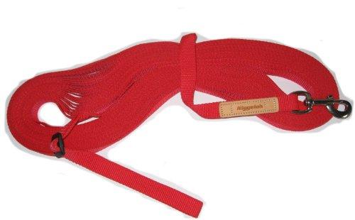 Niggeloh Hunde Feldleine, rot, 031100012