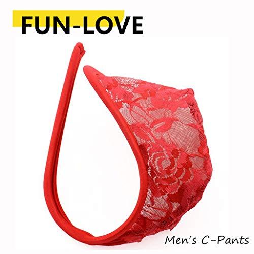fun-love Unterwäsche C-förmige Unterhose (zufällige Farbe)